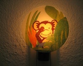 Monkey Night Light 4  Ideal for Entrance, Hallway, Bedroom, Bathroom, Kitchen