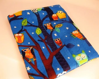 Sandwich Bag w / Robert Kaufman Night Owl  fabric BUY 3 GET 1 FREE