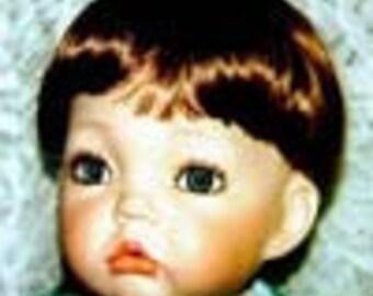 "Global Modacrylic "" Toddler"" Doll Wig Size 7 - 8"