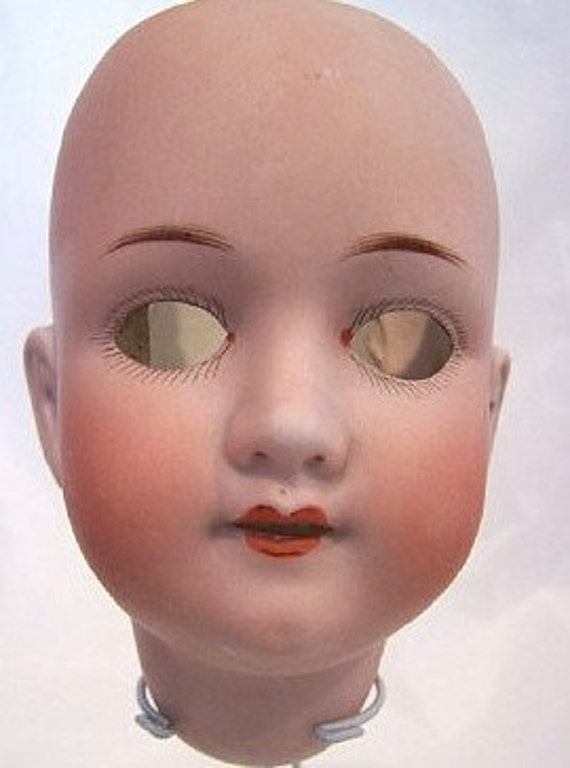 MOA German  Bisque Doll Head