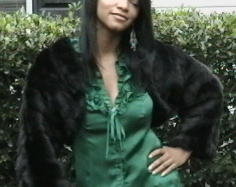 Faux Fur Shrug Jacket