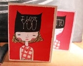 Valentines Day Ditto on the Love Cards
