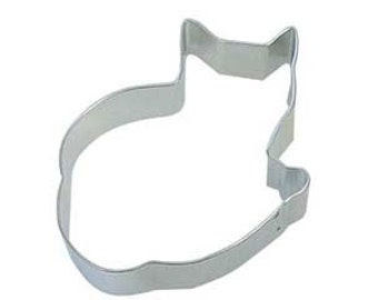 Cozy Kitty Cat cookie cutter