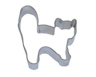 Halloween Scared Cat or Persian Kitty cookie cutter
