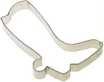 "3.5"" Cowboy Boot  Cookie Cutter, western cookie cutter"