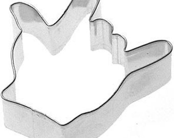ASL Sign Language Hand cookie cutter I love you wedding Valentines Day