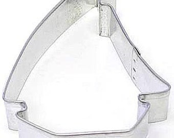 """3.5"""" Sailboat Cookie Cutter Sailing Boat cookie cutter, sailor cookie cutter"""
