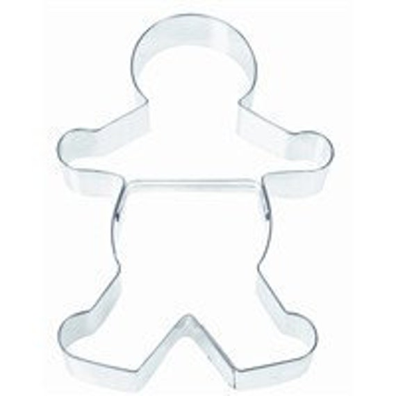 7.5 inches  large Gingerbread Man Cookie Cutter Boy