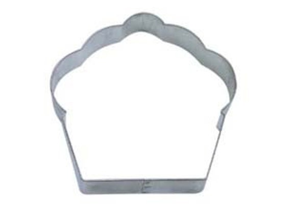 Muffin cookie cutter or Cupcake Cookie Cutter