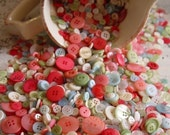 SHABBY CHIC Buttons, 50 Assorted