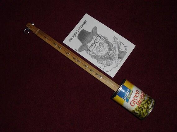 georgia1stringer green bean can  canjos mountain instrument
