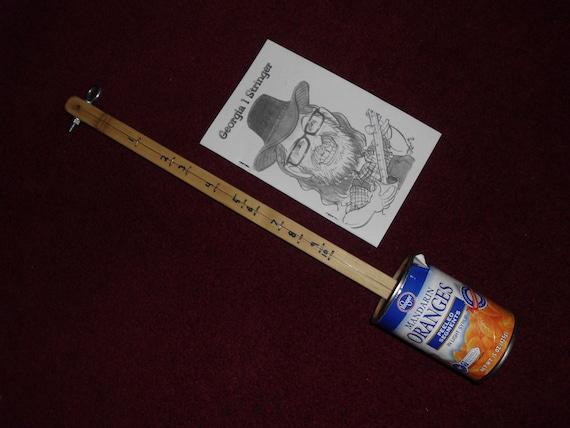 georgia 1 stringer mandarin orange can  canjos mountian instrument