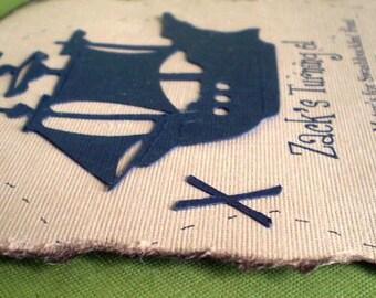 Pirate Party Invitations, Pirate Invitations, Pirate Birthday Invitations, Pirate Party Invitations, Treasure Map Invitation, Set of 12