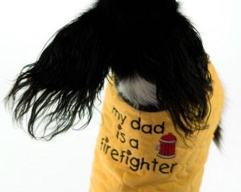 Firefighter Turnout Dog Coat