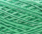 Free Ship Clea Variegated Green size 10 Crochet Cotton Thread Yarn Knitting - richipy