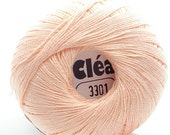 Clea Light Salmon/Peach size 10 Crochet Cotton Thread Yarn - richipy