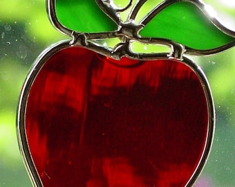 Stained glassi apple