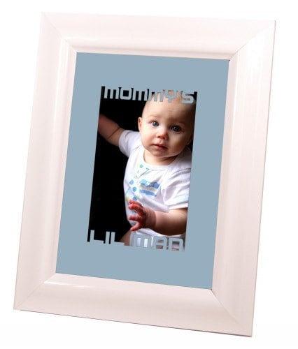 Personalized Laser Cut 5x7 Mat Board Cutout Frame