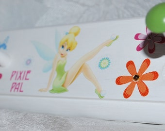 Personalized Coat Rack . Tinkerbell