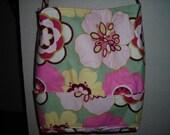 Trendy Pink Floral Tote