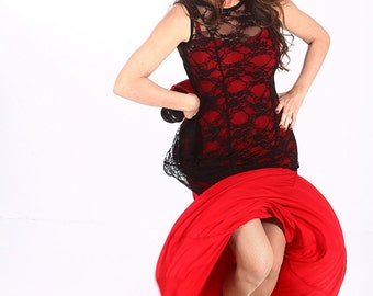 BATA Tunic, Flamencita design, Professional flamenco spanish tunic ,Size M