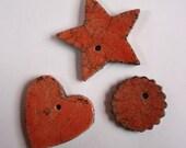 Ceramic decorations - raku