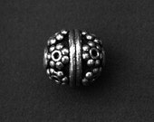 Bali Bead - Handmade Sterling Silver Bead BB08 (2) - CHBeads