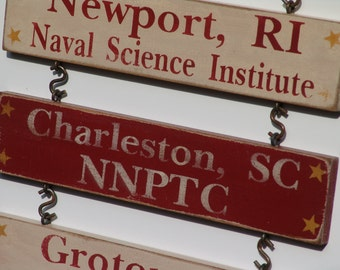 Additional Duty Station Signs - City, State & Command