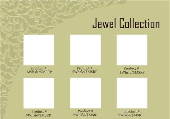 line sheet or wholesale catalog template gimp by simpleaspen. Black Bedroom Furniture Sets. Home Design Ideas