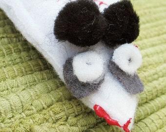 White Zombie Mouse Organic Catatonic Catnip Cat Toy