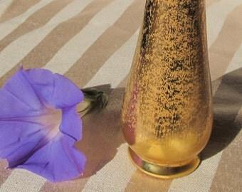 Stangl Vintage 22K gold bud vase