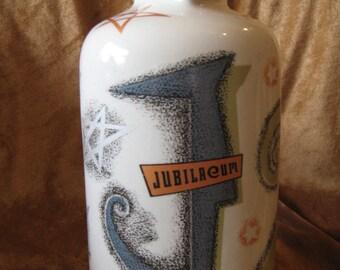 Vintage Jubilaem Pottery Art Vase
