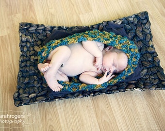Newborn Pea Pod Baby Girl Lace Egg READY Ship Knitted Nest Boy Photo Prop Cocoon Infant Pouch Photography Hand Knit Cacoon Mohair Sack Color