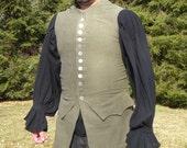Linen Colonial Waistcoat (Wescott)