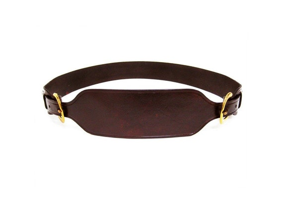 The Classic 2-Piece Harness Belt in Bison Brown
