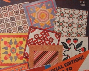 Super book of Quilting, A quilters Dream come True 1964 McCalls Special Edition