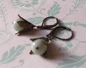 Mint Julep. Earrings