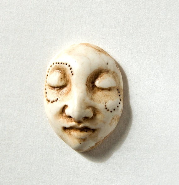 larger faux ivory face cab