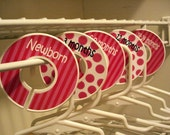 Custom Closet Dividers - POSITIVELY PINK