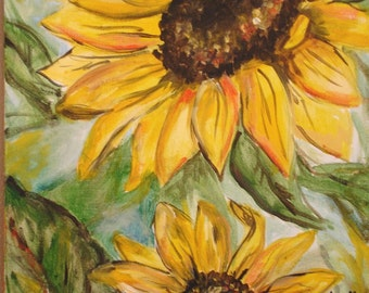 Sunflowers Commission by Kristen Dougherty