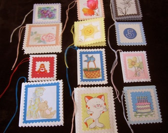 Set  of  12  Gift Tag Note Cards