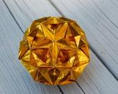 Gold Foil Kusudama