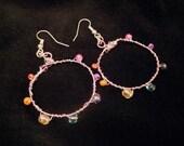 Rainbow Ring Earrings