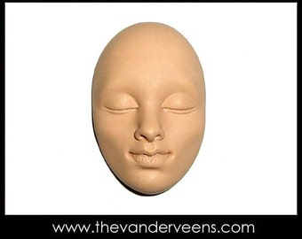 Mold No.35 (Face-High cheekbone with closed eyes) by Veronica
