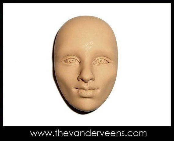 Mold No.36 (Face-High cheekbone with Open eyes) by Veronica