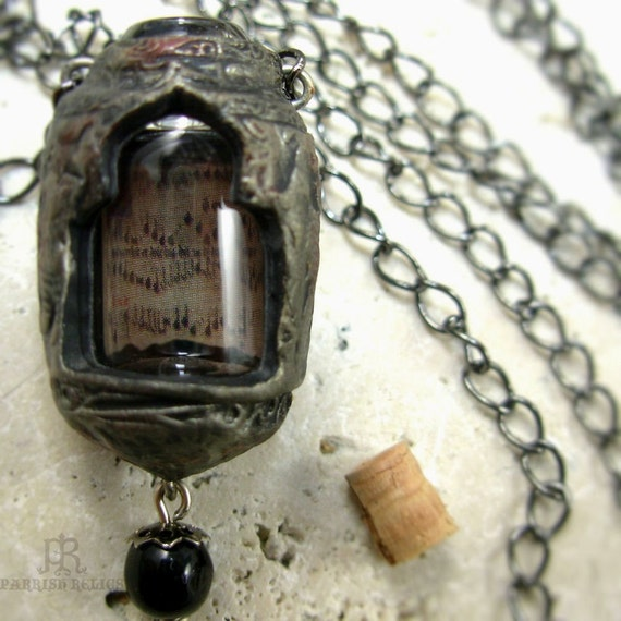 A Song of Ages Past...Vessel Amulet Necklace