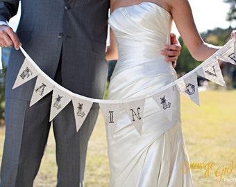 a little linen banner... fall in love