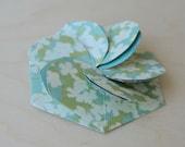 Flower Pattern Petalfold Card