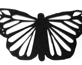 Schmetterling-Phantasie-Brosche