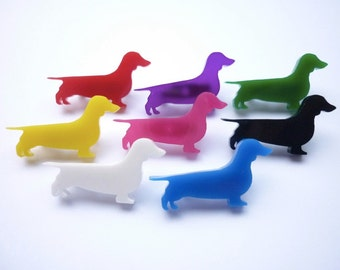 Mini Dachshund (Sausage Dog) Brooch